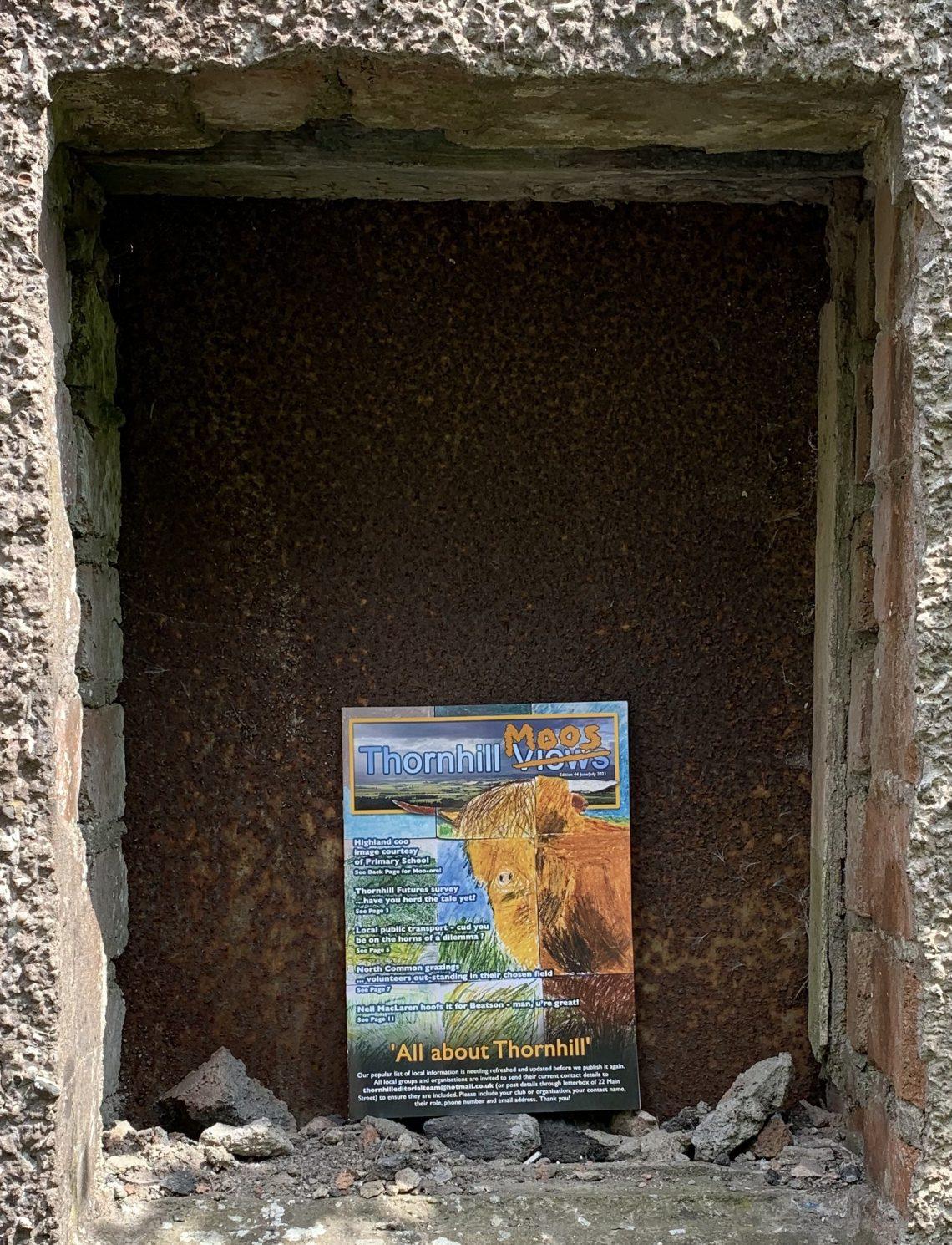Tannery Hoose Windae #6: Thornhill Moos